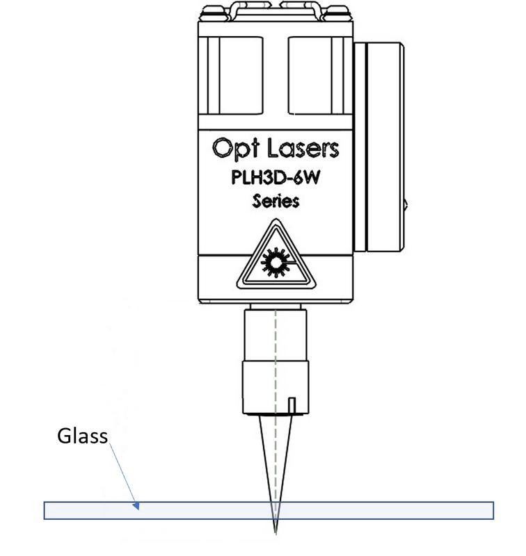 Laser Propagating Through Transparent Materials (Glass)