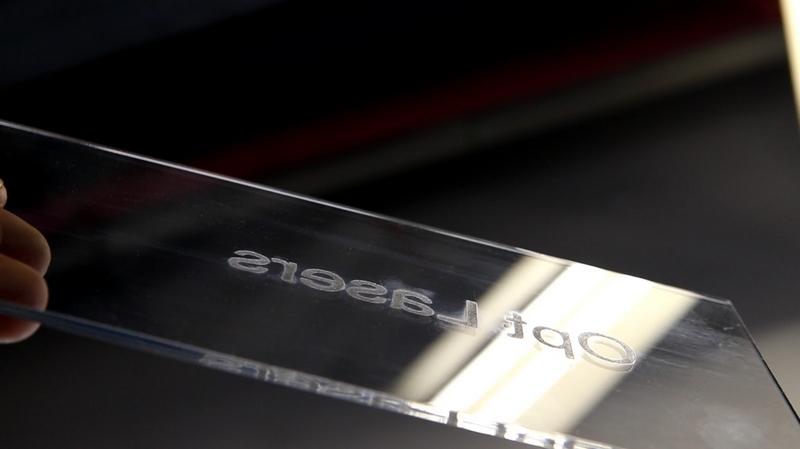 Laser Engraved Transparent Acrylic