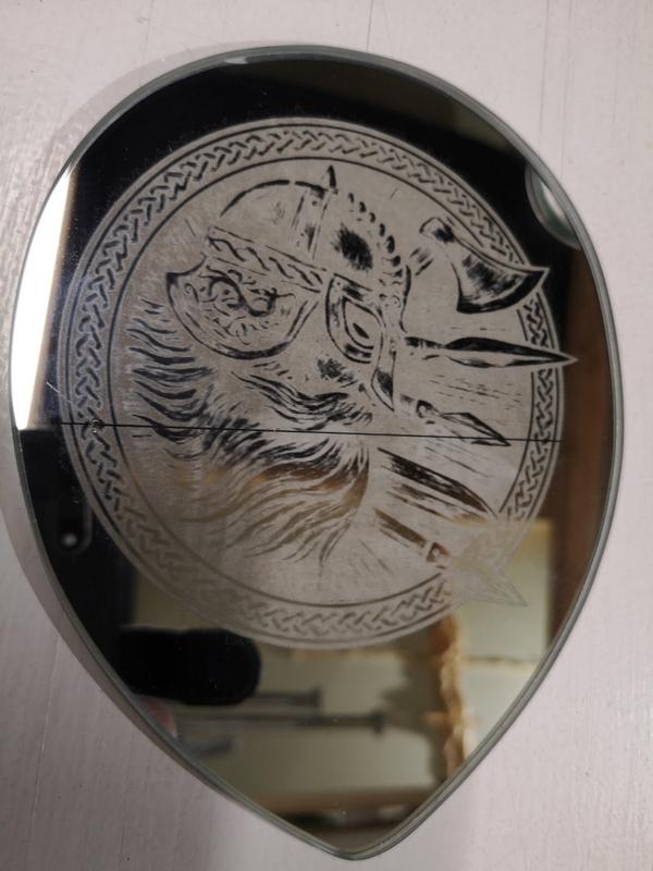 Laser Engraving Mirror