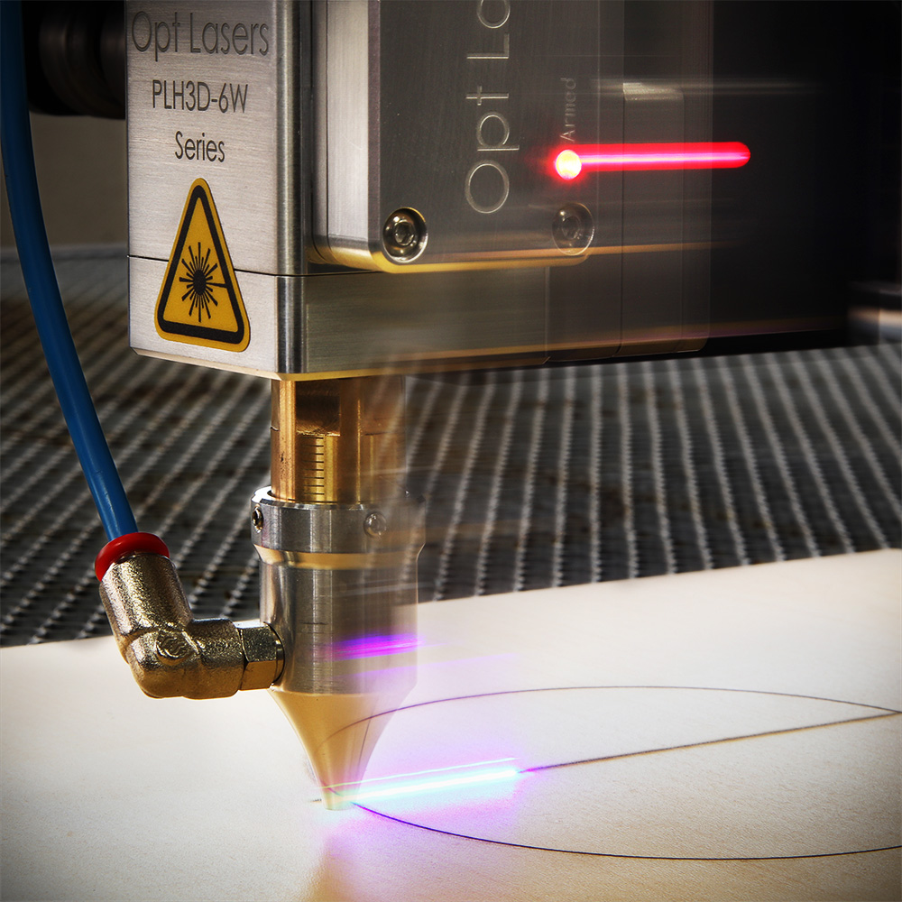 Rapid Laser Cutting with High-Pressure Air-Assist Nozzle