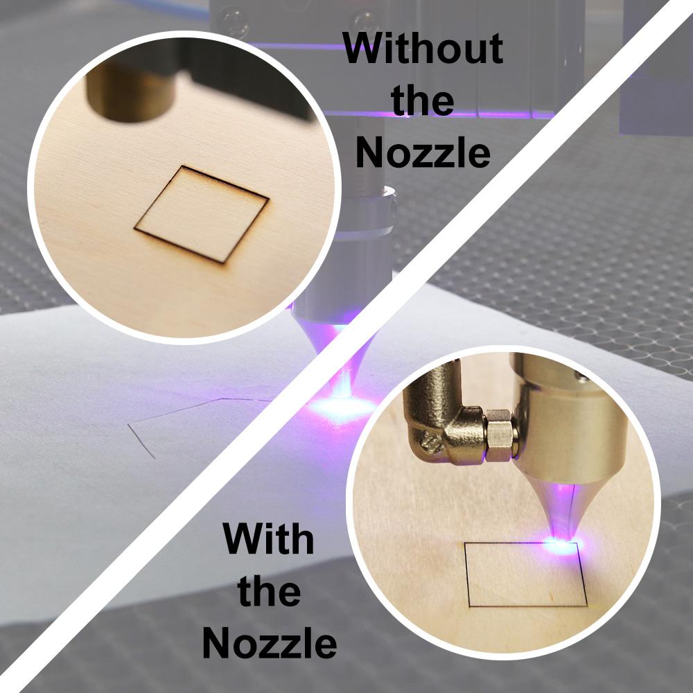 Laser Cutting with Uniform Edges