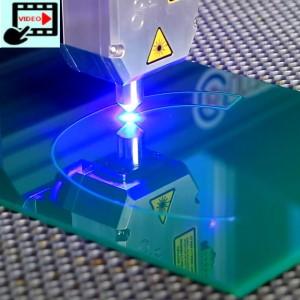 PLH3D-15W Cutting Green Plexiglass (PMMA)