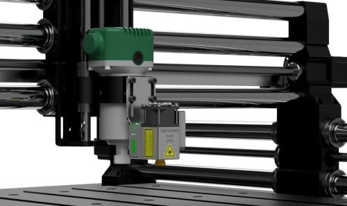 Onefinity CNC Machine Cutting & Engraving Laser Upgrade Kit with LaserDock